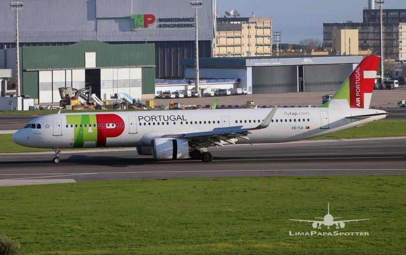 Final landing runway 03 - Flight TP581 Frankfurt (FRA) / Lisbon(LIS)