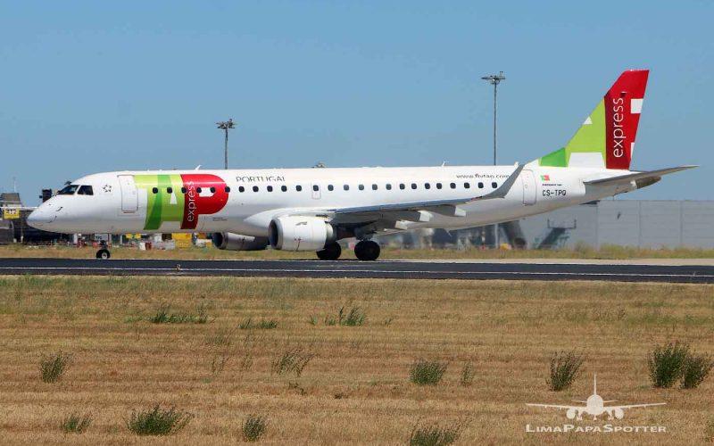 CS-TPQ | Embraer 190LR | TAP Express
