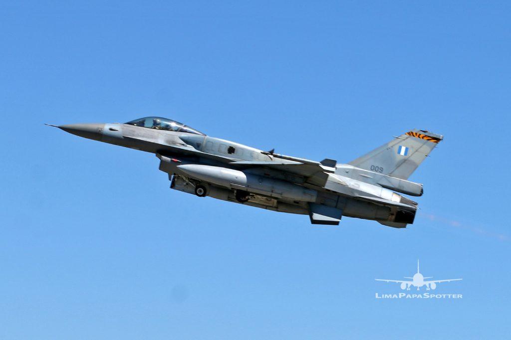 009 - Lockheed Martin F-16CJ Fighting Falcon - Greece Air Force - NTM2021