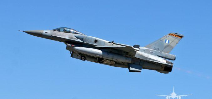009 | Lockheed Martin F-16CJ Fighting Falcon | Greece Air Force – NTM2021 BA11 Beja