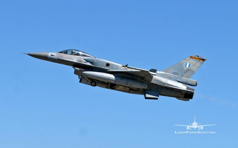 009   Lockheed Martin F-16CJ Fighting Falcon   Greece Air Force – NTM2021 BA11 Beja